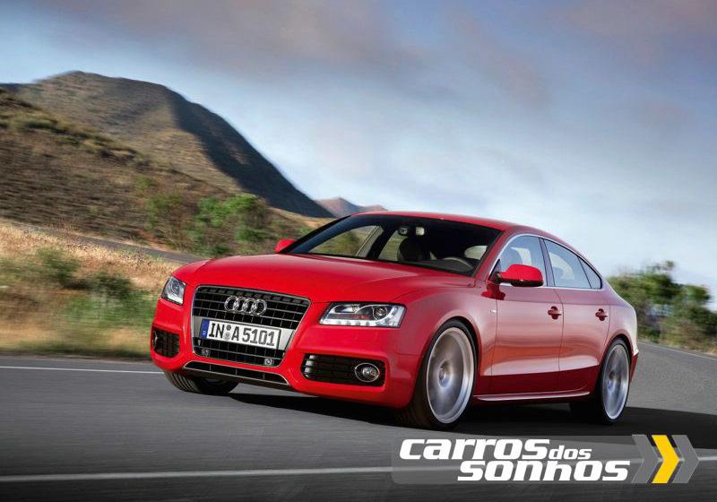 Audi A5 Sportback 2010 Carros Dos Sonhos