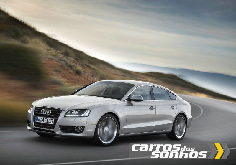 audi a5 sportback 2010 carros dos sonhos. Black Bedroom Furniture Sets. Home Design Ideas