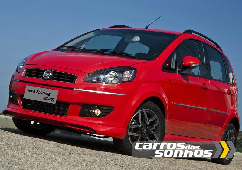 Novo Fiat Idea 2011 - Cores - Modelos - Motores - Opcionais | Carros