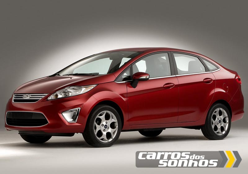 Ford New Fiesta 2011 2012 Hatch E Sedan Carros Dos
