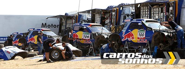 Volkswagen Coloca o Rally Dakar no iPhone