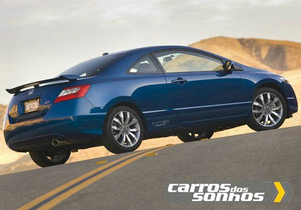Honda New Civic Si Coupe 2010