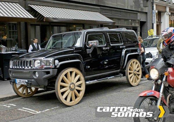 Hummer H3 Wagon Concept 2008 - Com Rodas de Madeira