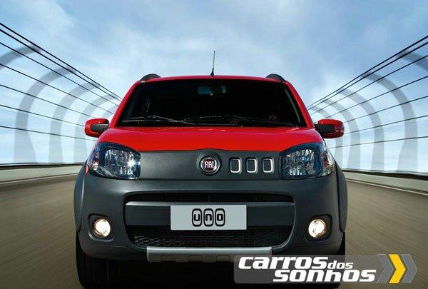 Novo Fiat Uno 2011 - Cores - Modelos - Opcionais - Motorização