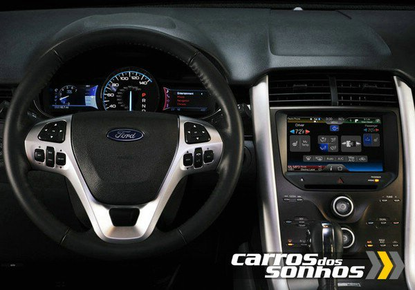 Ford Edge Sport 2011 - Painel de instrumentos