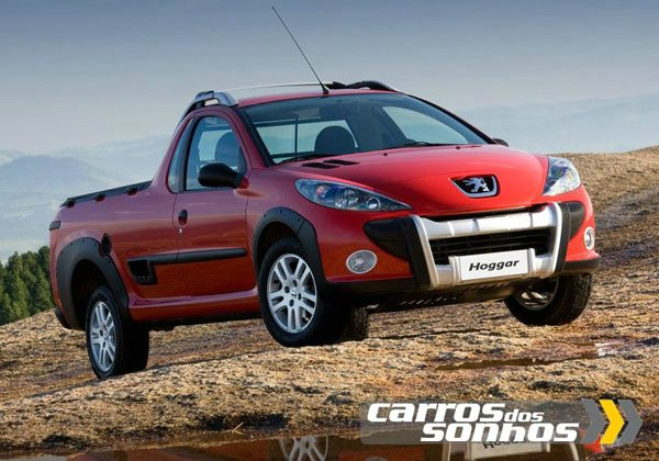 Novo Pick-up Peugeot Hoggar 2011 Escapade, X-Line e XR