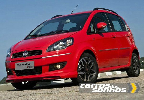 Novo Fiat Idea 2011