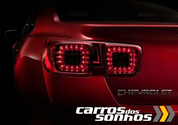 Novo Chevrolet Malibu 2013