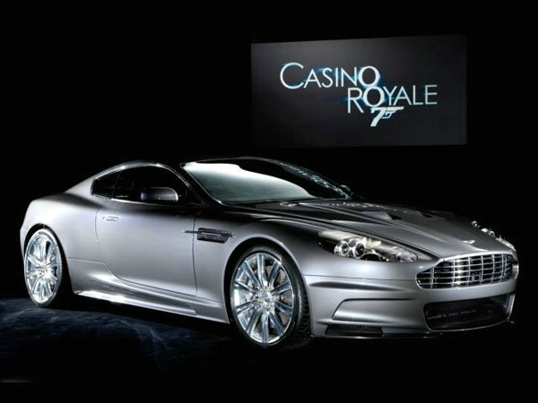 Aston Martin DBS - Pilotado por James Bond nos filmes, Casino Royale e Quantum of Solace