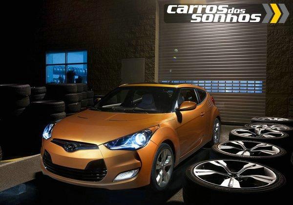 Novo Hyundai Veloster 2012 – O Carro com 3 portas