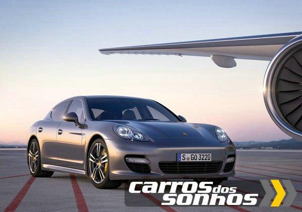 Porsche Panamera Turbo S 2012