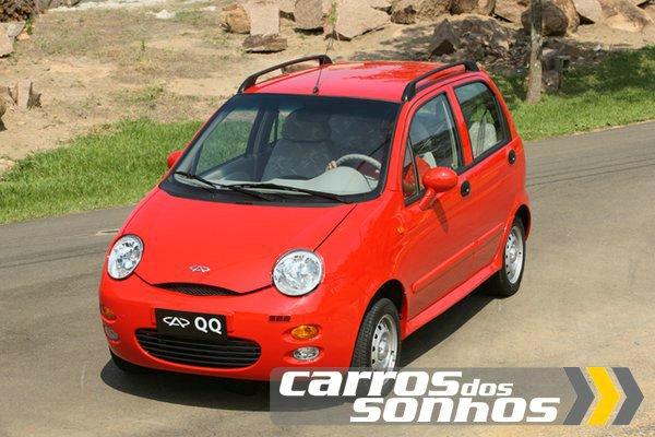 Chery QQ 2011/2012 – Que-quê, que esse carro tem?