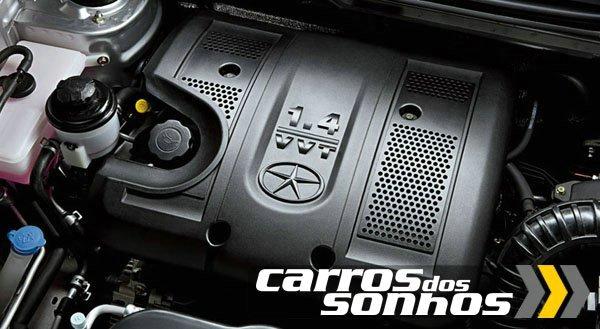 Motor 4cc 1.4 com 108cv - J3 Jac Motors
