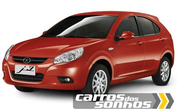 J3 Vermelho - JAC Motors