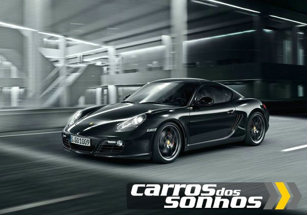 Porsche Cayman S Black Edition 2012