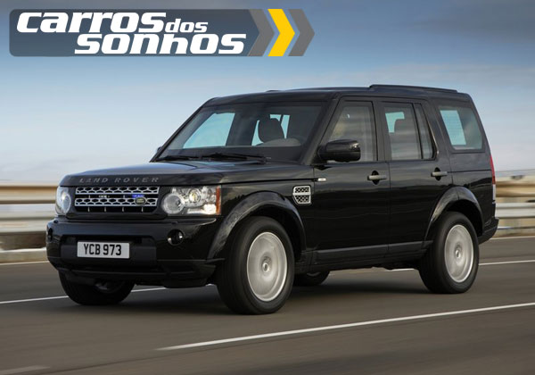 Land Rover Discovery 4 Blindada 2011