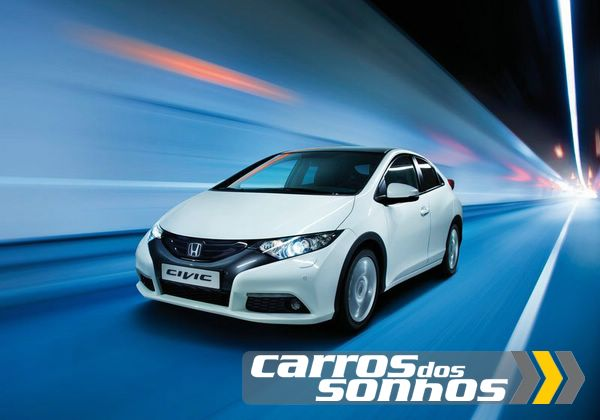Honda Civic Hatch 2012 – Europeu