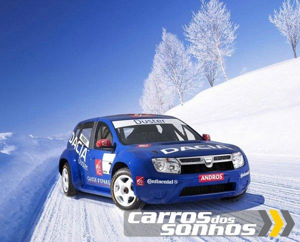 Renault Duster 2012 preparado para provas de Rally