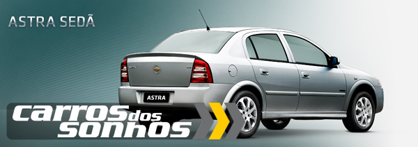 Chevrolet Astra Sedã 2012