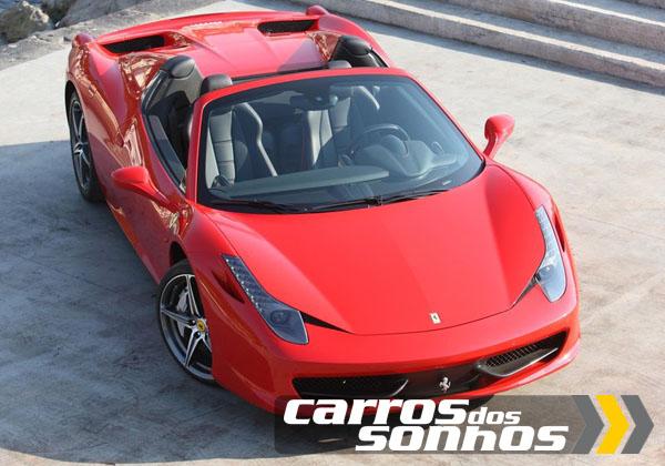 Ferrari 458 Spider 2013