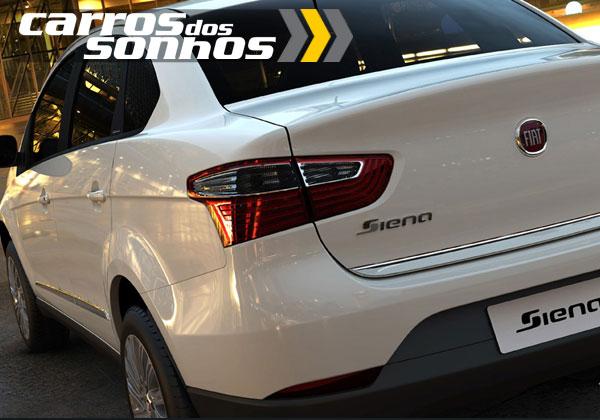 Novo Fiat Grand Siena 2012 Porta-malas