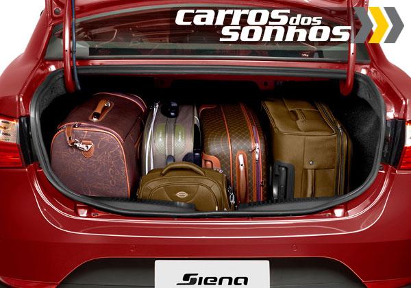 Fiat Grand Siena 2012 Porta-malas 520l