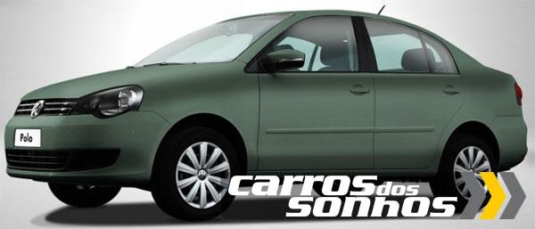 Novo-Polo-Sedan 2012-Cinza-Vulcan