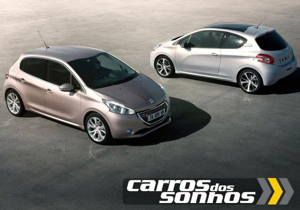 Peugeot 208 2013 fotos ficha t cnica e pre o carros for Interno peugeot 208