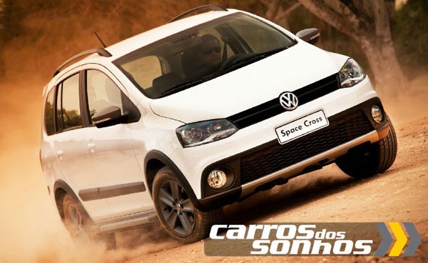 VW Space Cross 2012