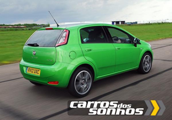 Novo Fiat Punto 2012