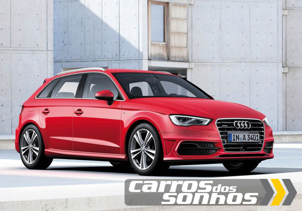 audi a3 sportback s line 2014 carros dos sonhos. Black Bedroom Furniture Sets. Home Design Ideas
