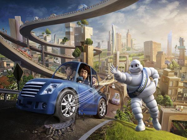 A Michelin indica o pneu certo para seu carro!