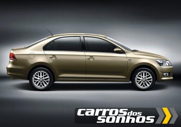 Novo Volkswagen Santana 2013