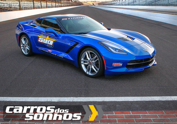 Chevrolet Corvette Stingray Indy 500 Pace Car 2014