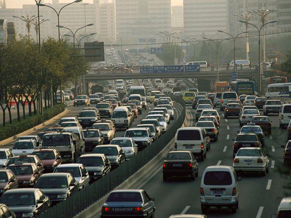 Estrada em Pequim
