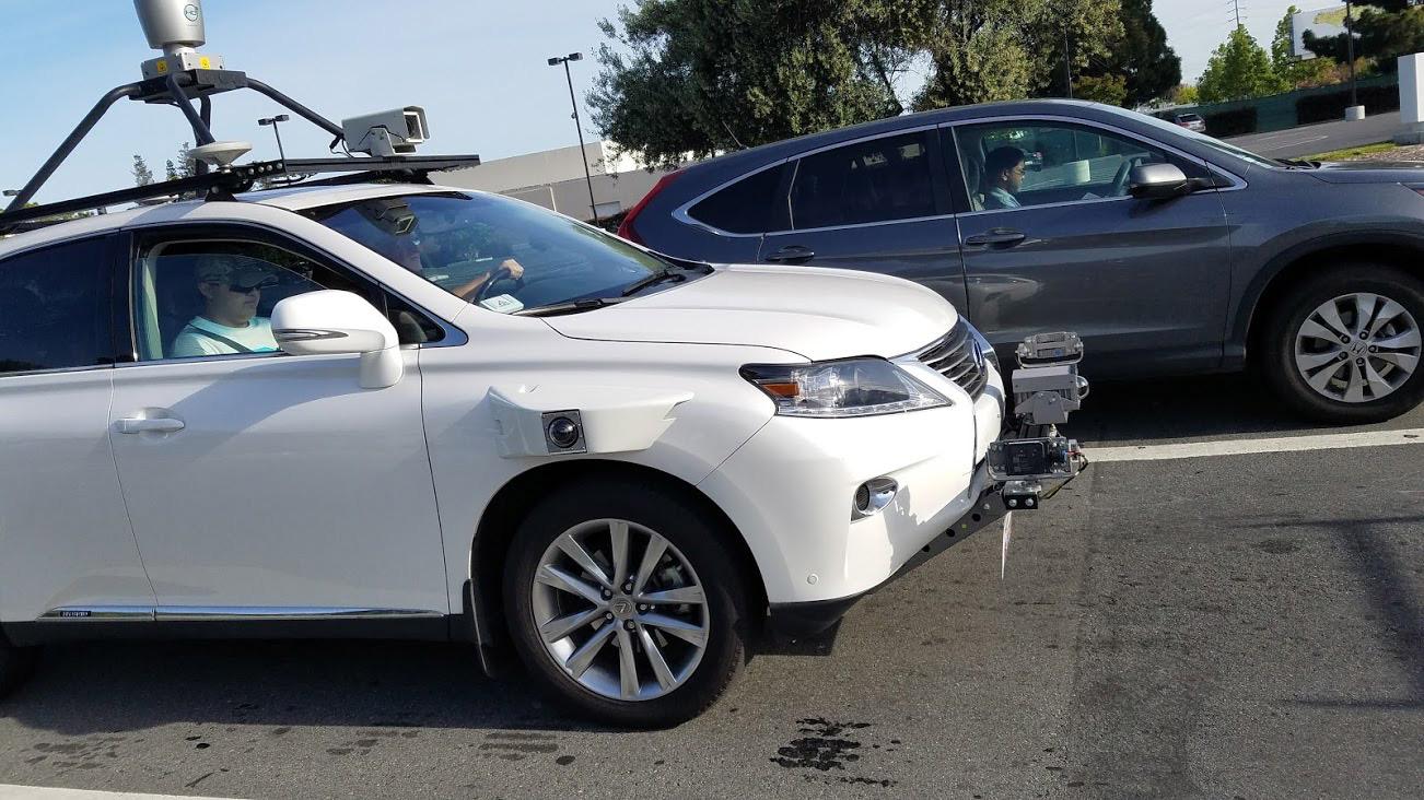 Primeiras fotos do automóvel autônomo da Apple