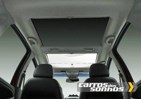 Teto Solar Panorâmico do Novo Fiat Idea 2011