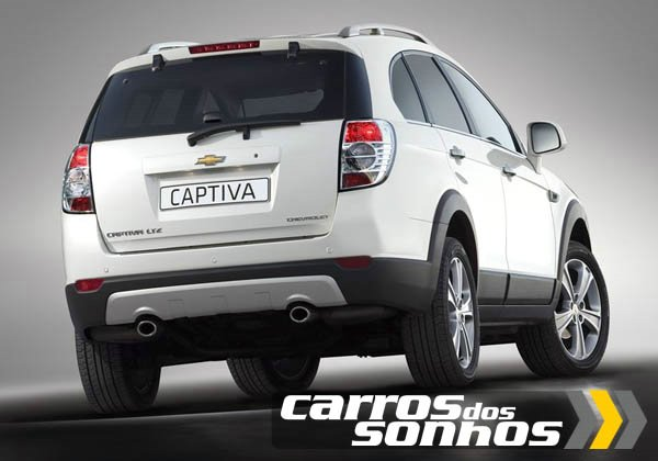 Chevrolet Captiva 2012 Sport SUV - Traseira