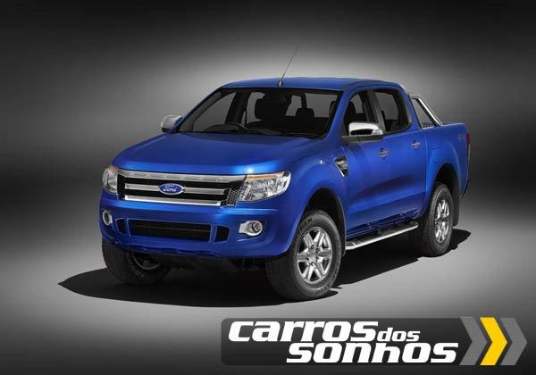 Ford Ranger 2012 Cabine Simples, Dupla e Estendida (Super Cab)