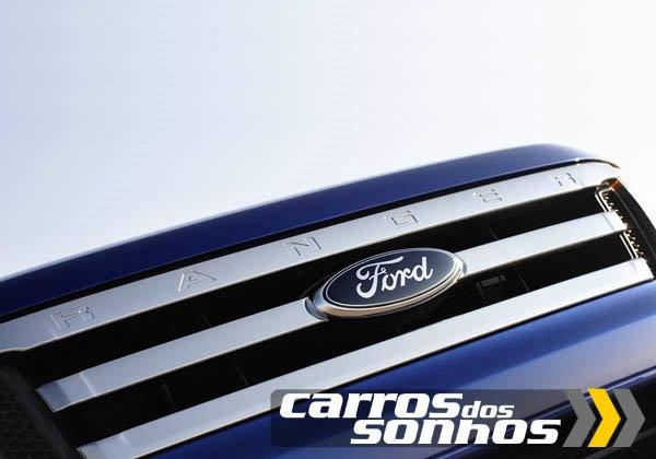 Ford Ranger 2012 - Nova Frente