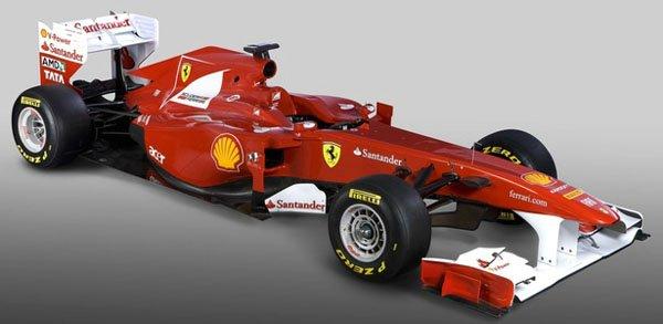 Ferrari apresenta o F150, carro que irá disputar o mundial de Fórmula 1 2011