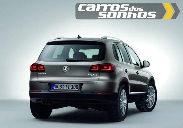 Volkswagen  Tiguan 2012 - Traseira / Lanternas