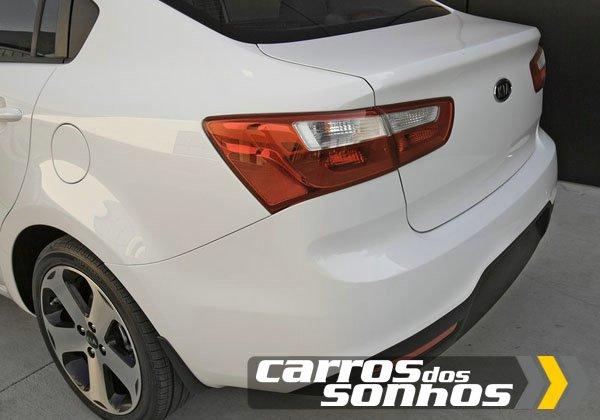 Kia Rio Sedan 2012
