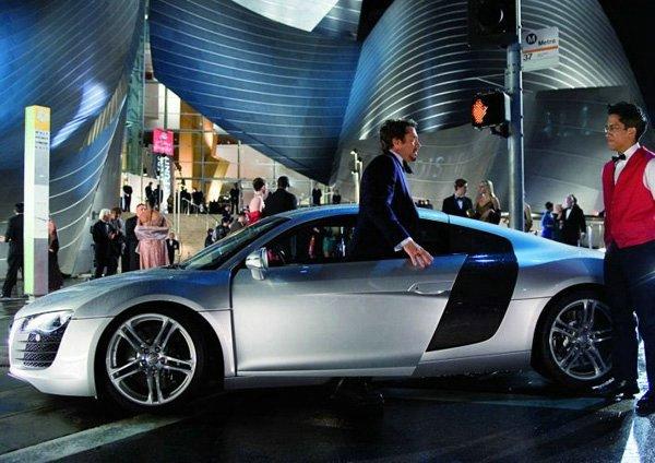 Audi R8 - Nos dois filmes da série Homem de Ferro