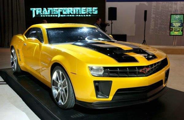 Chevrolet Camaro Bumblebee - Transformers