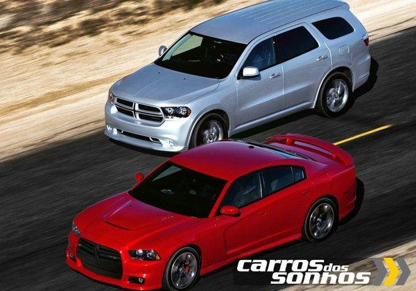 Dodge Charger SRT8 2012 e Dodge Charger SRT8 2012 SUV