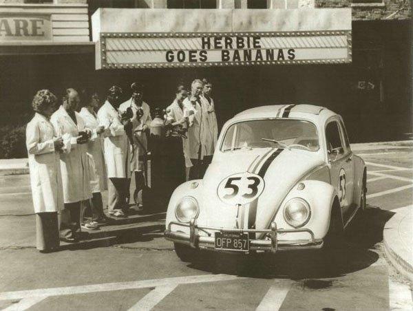 Volkaswagen Fusca - Herbie na série Se Meu Fusca Falasse