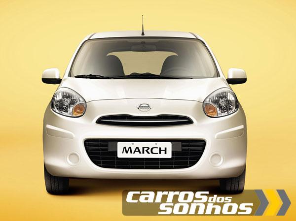 Nissan March 2012 Frente
