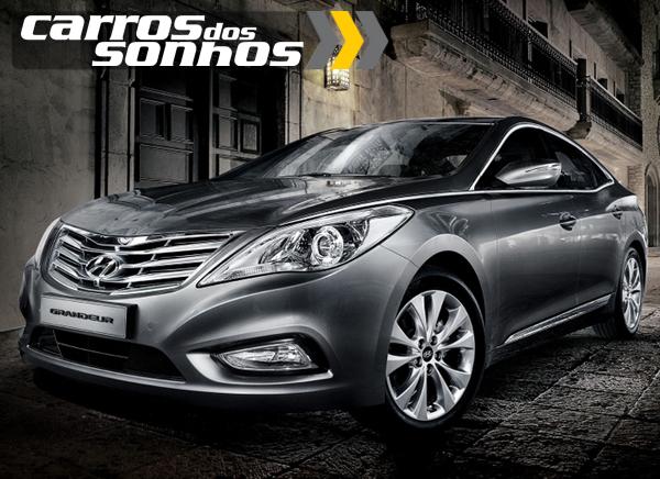 Novo Hyundai Azera 2012 (5G Grandeur)