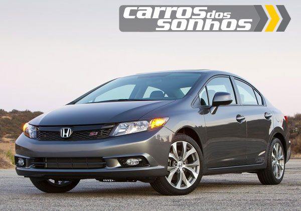 Honda Civic Si Sedan 2012